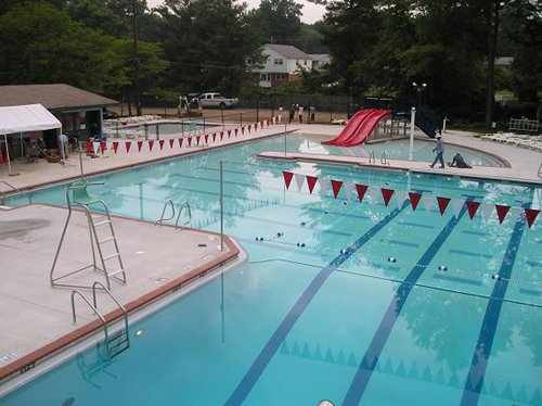 Custom Commercial Public Pool