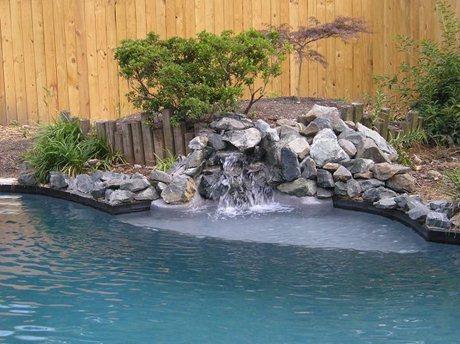 Custom waterfalls make a statement