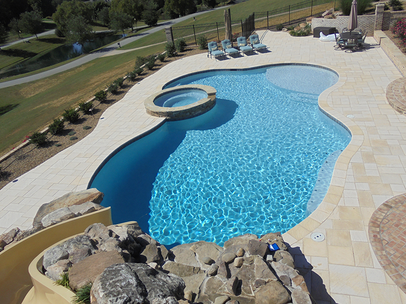 Custom built pools
