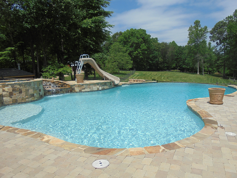 Custom Inground Pool (28)