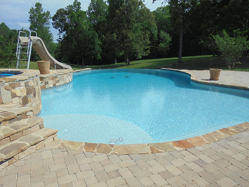 Custom Inground Pool (30)