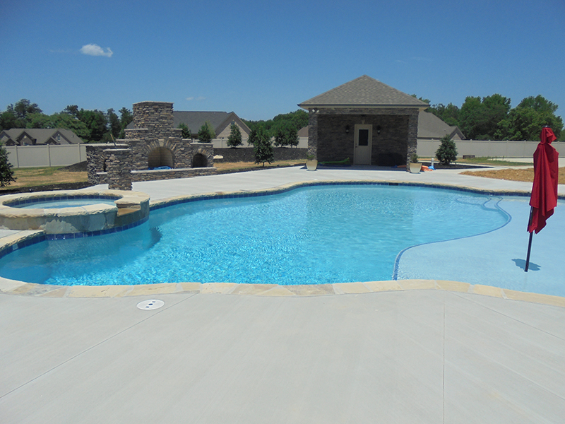 Residential Concrete Pool Gallery By Mackie Brothers Pools
