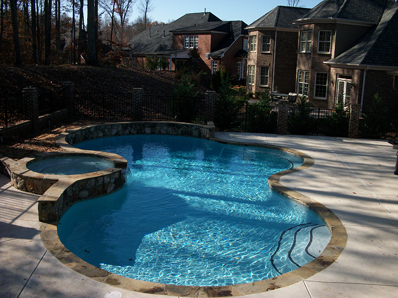 Custom Inground Pool (64)