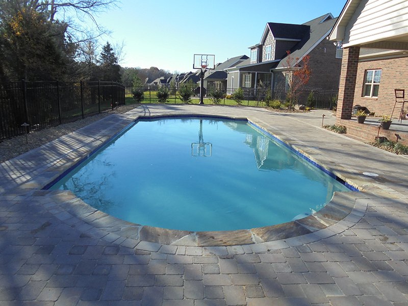 Basketball court Pool