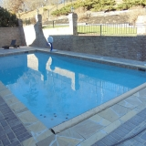 Custom pool and Retaining walls