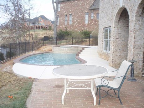 Pools and spas fit into any backyard