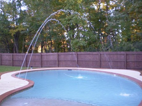 Water features make your pool unique