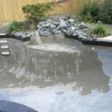 Pool and Rock Waterfall Renovation