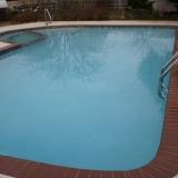 Renovated pool