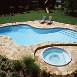 Vinyl Pool and Spa