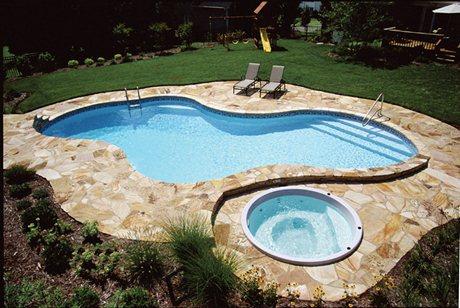 Vinyl Pool and Spa